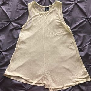 Anthropologie muscle tank
